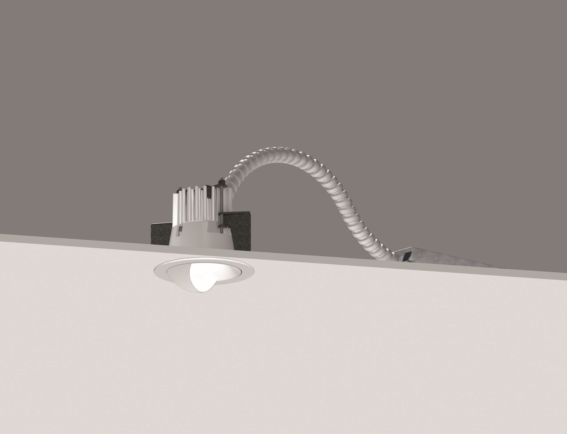 2.4in General Downlight - Wall Wash