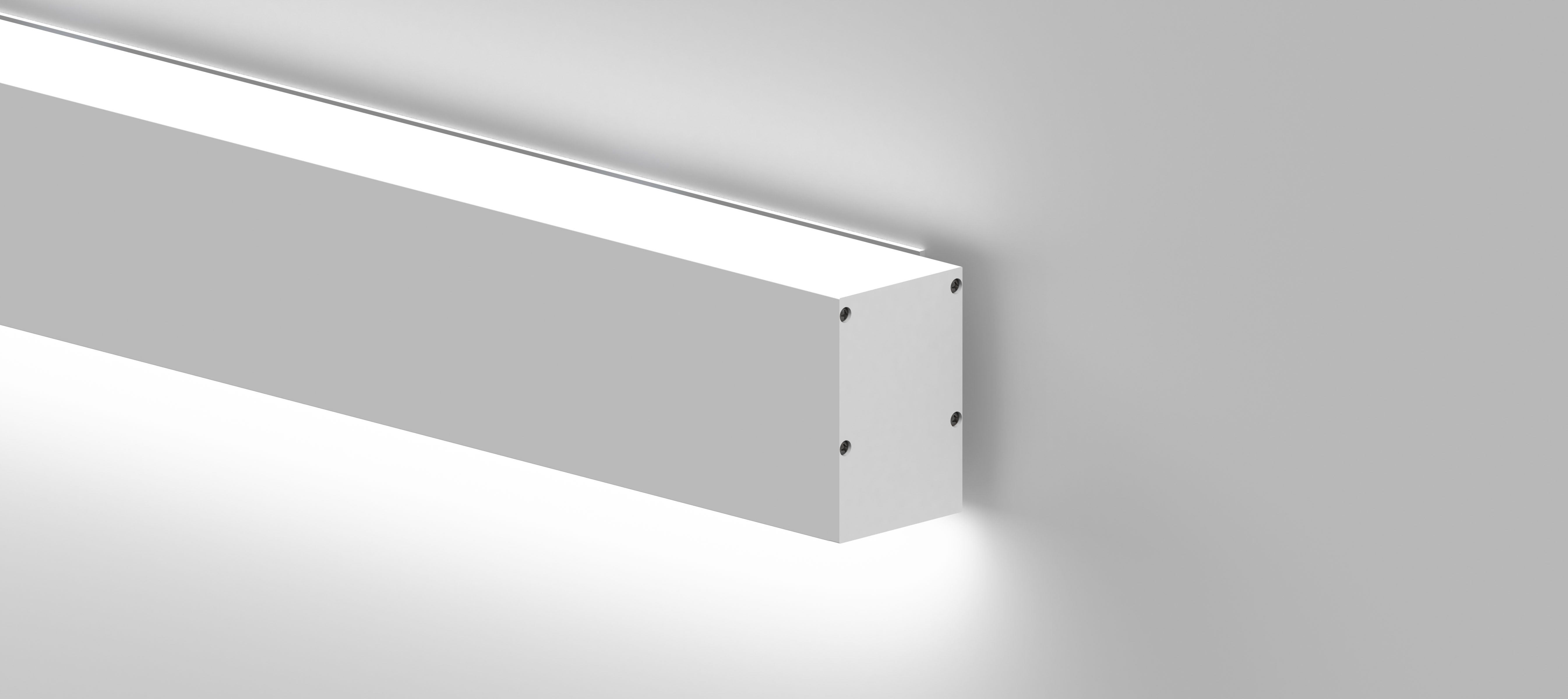 60 Linear - Direct or Indirect - Surface Wall Mount
