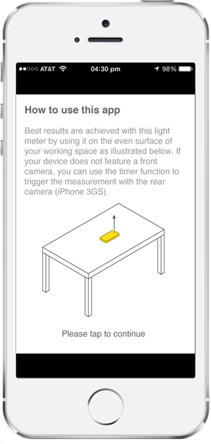 as any lighting professional knows you never have a light meter when you want one you can now download your free whitegoods light meter app by visiting